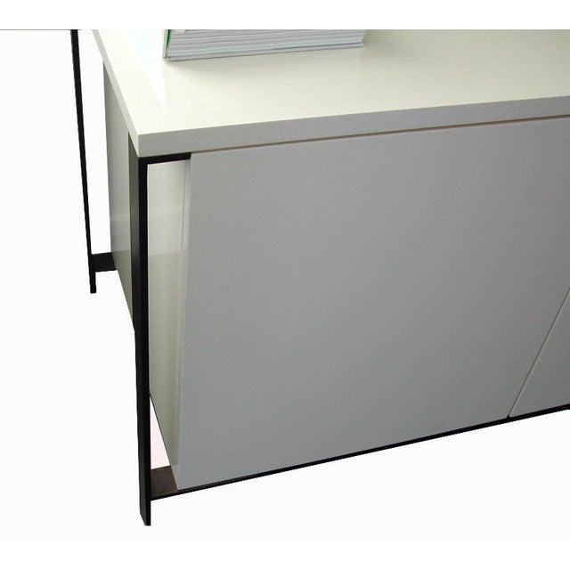 Fabry Bronze Frame Media Cabinet - Image 5 of 8