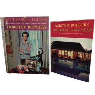 Vintage Dorothy Rodgers Books - A Pair