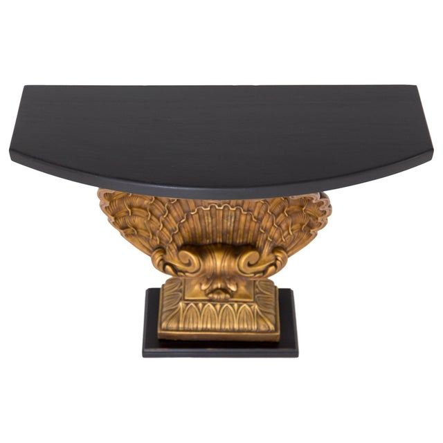 Grosfeld House Gilded Shell Console - Image 5 of 10