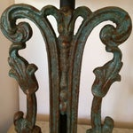 Image of Rustic Vintage Iron Lamps - A Pair