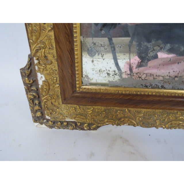 Antique Gilded Mirror - Image 7 of 7