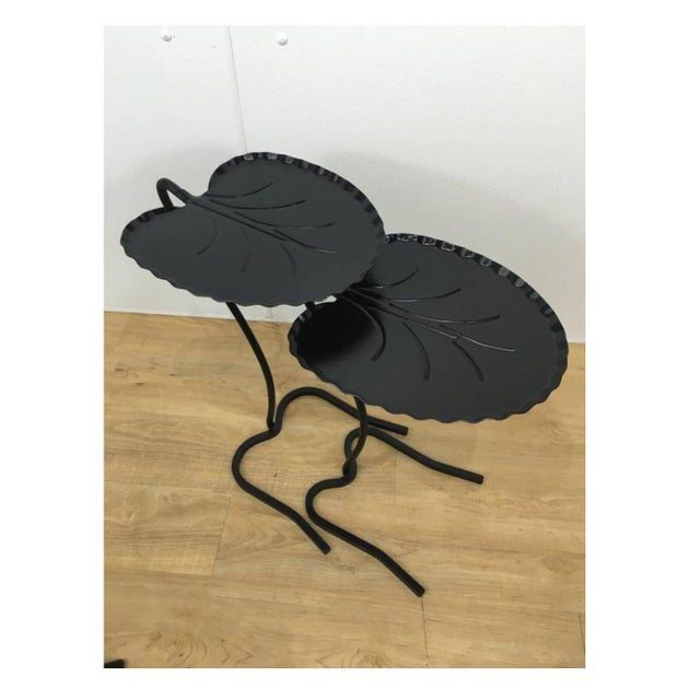 Salterini Lily Pad Nesting Tables - a Pair - Image 2 of 6
