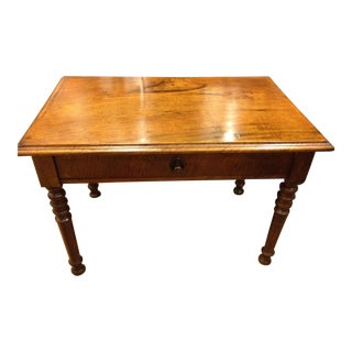 18th Century German Black Walnut Architect's Desk