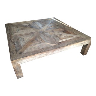 Restoration Hardware Reclaimed Wood Coffee Table