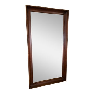 Wood Framed Full Length Mirror