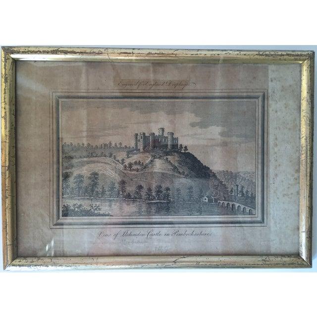 Antique Welsh Castles Engravings - Set of 3 - Image 7 of 7