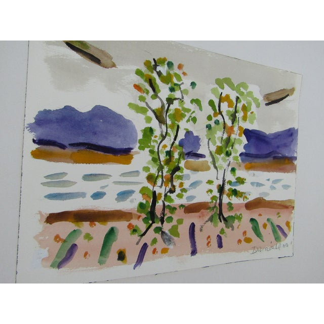 Birch Trees by the Ocean by George Daniell - Image 4 of 4