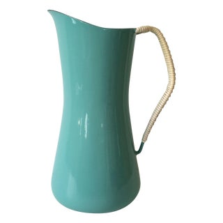 Dansk Kobenstyle Turquoise Pitcher