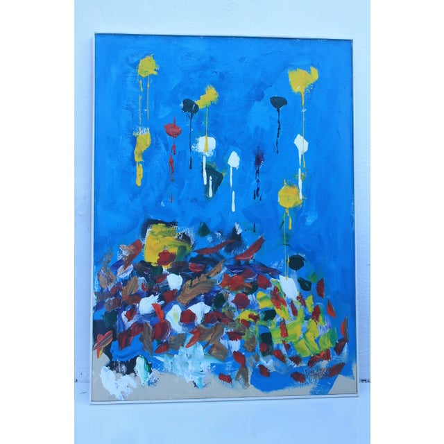 Jose Perdomo Vintage Expressionist Painting - Image 2 of 11