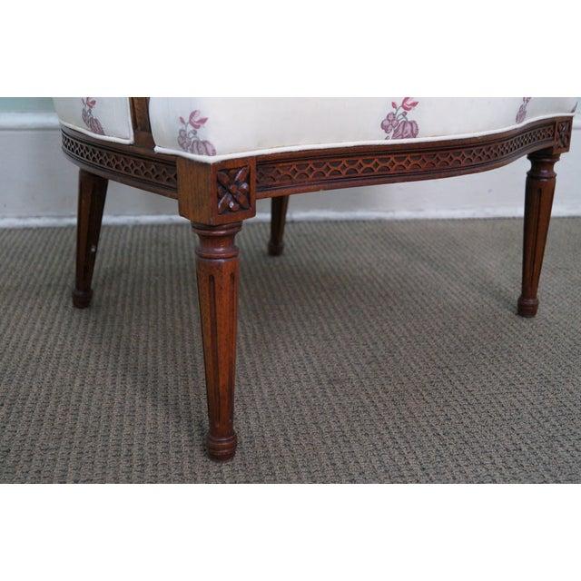 Kravet Mahogany French Louis XVI Chairs - Pair - Image 8 of 10
