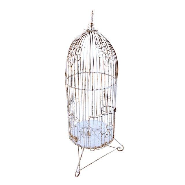 Vintage Garden Bird Cage - Image 1 of 4