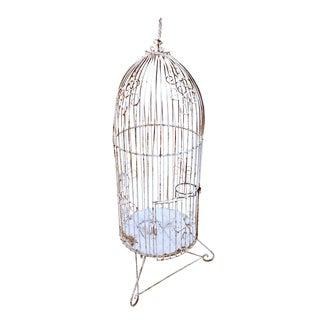 Vintage Garden Bird Cage