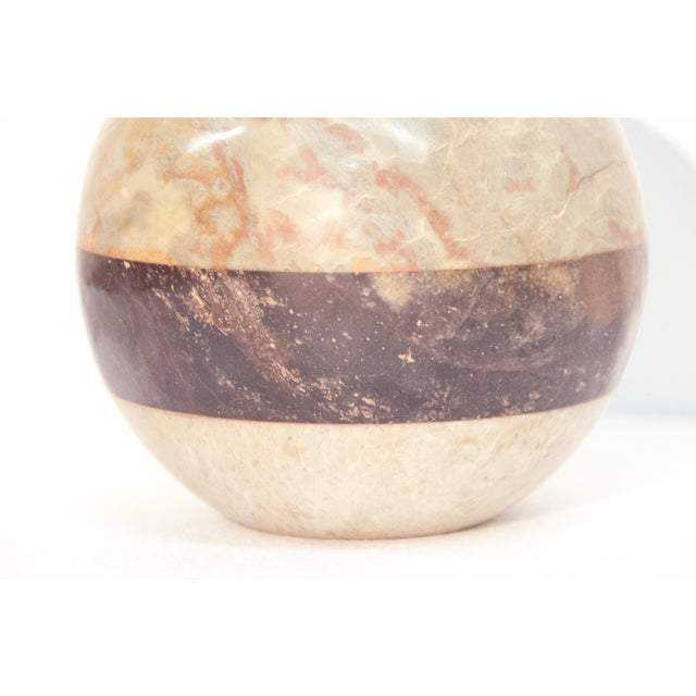 Image of Stone Sphere in the Style of Maitland Smith