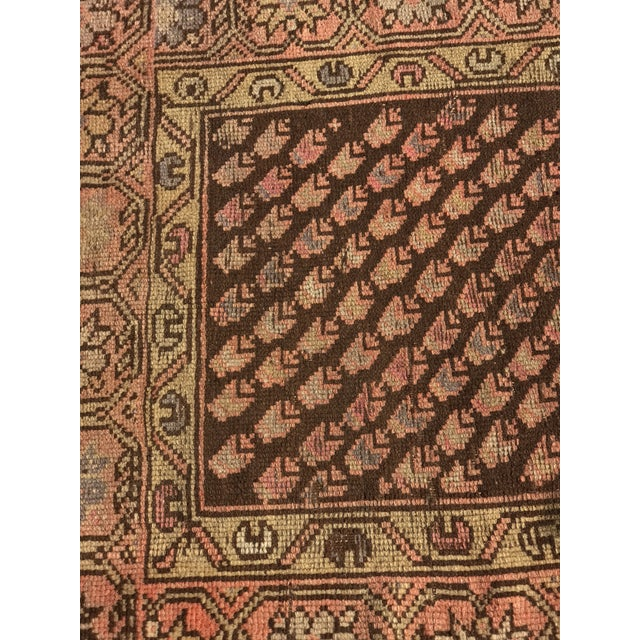 """Antique Persian Malayer Rug - 2'3"""" x 3' - Image 3 of 11"""
