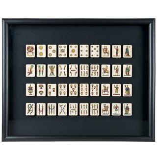 40 Framed A. Viassone Italian Playing Cards