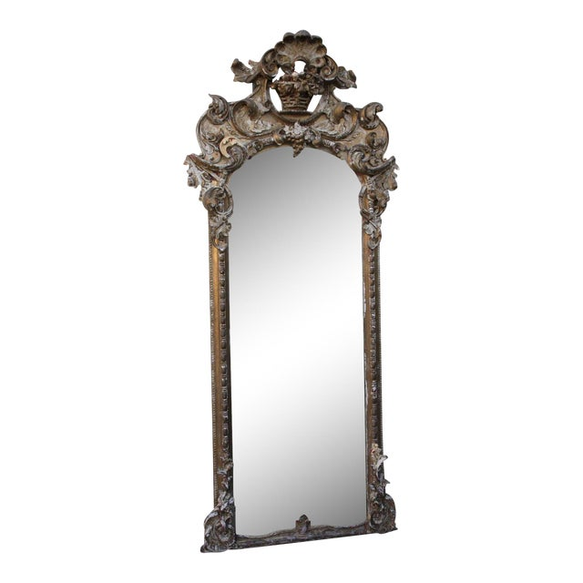 19th C. Italian Gilt Wood Mirror - Image 1 of 5