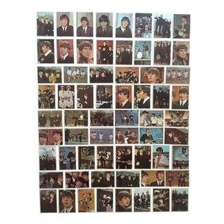 Vintage 1964 Topps Beatles Trading Cards Complete Set - Set of 64