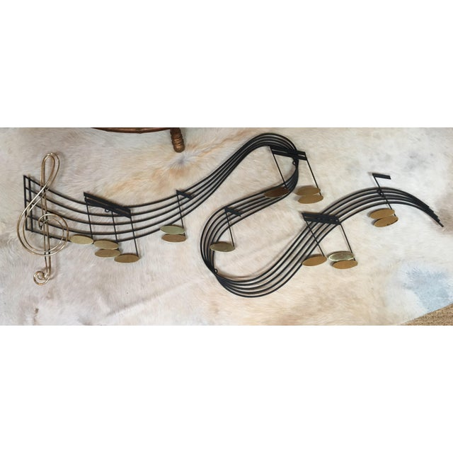 Curtis Jere Musical Note Wall Sculpture - Image 2 of 6