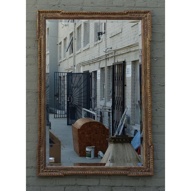 Italian Carved Giltwood Mirror with Bevel - Image 2 of 7
