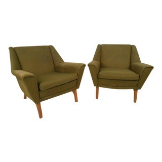Pair of Mid-Century Modern Danish Armchairs