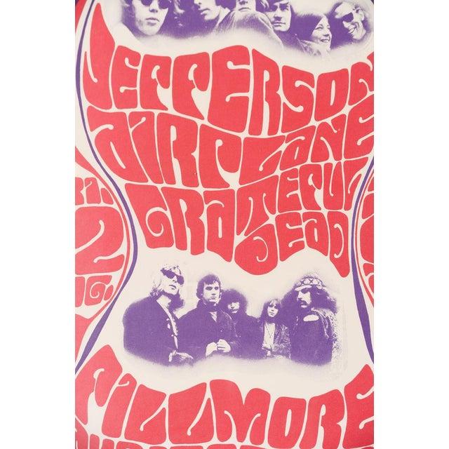 Vintage Grateful Dead in San Francisco Concert Poster - Image 3 of 7