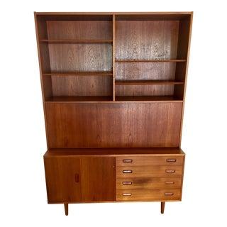 Mid-Century Modern Teak Wood Desk