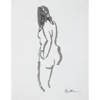 Minimal Figure in Ink