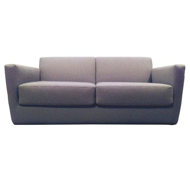 Modern Charcoal Sleeper Sofa - Image 3 of 4