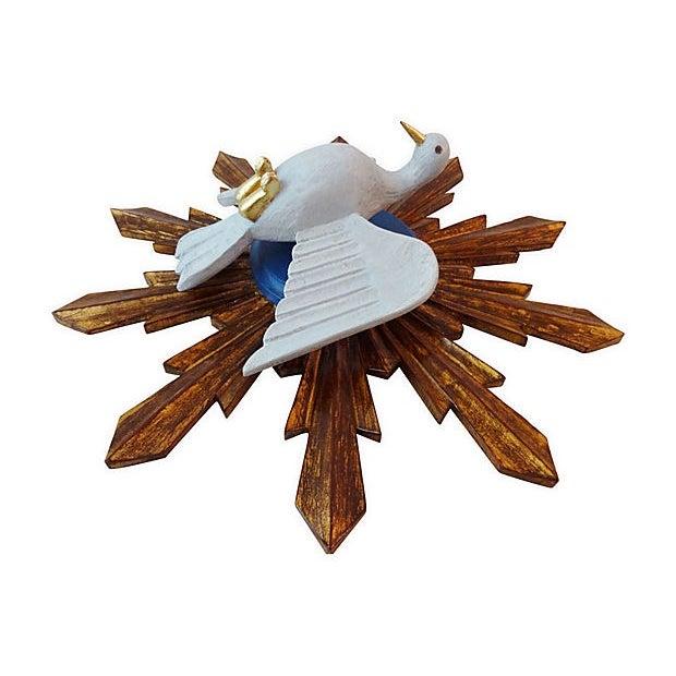 Wooden Dove Sunburst - Image 3 of 7