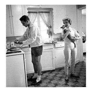 Paul Newman and Joanne Woodward 1958