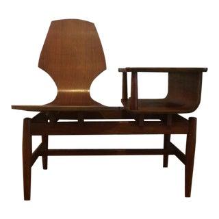 Mid-Century Modern Bentwood Gossip Table