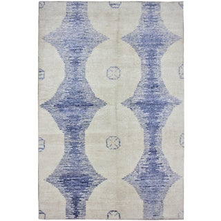 "Aara Rugs Inc. Hand Knotted Bamboo Rug - 12'0"" X 9'0"""
