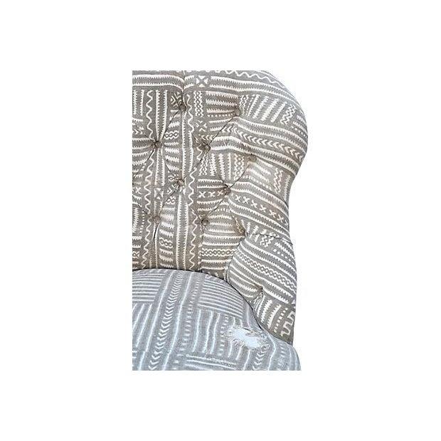 Mudcloth Boudoir Chair - Image 6 of 9