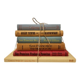 Vintage San Francisco & West Coast History Books - Set of 6