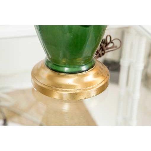 Mid-Century Ceramic Lamps - a Pair - Image 3 of 5