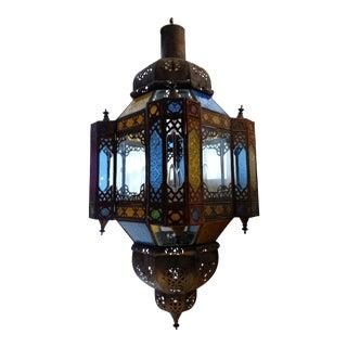 Moroccan Colored Lantern