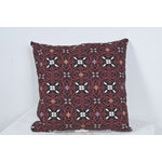 Image of Red Outdoor Throw Pillow