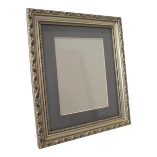 Floral Silver Frame