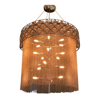 Scandinavian Modern Custom Designed Chandelier