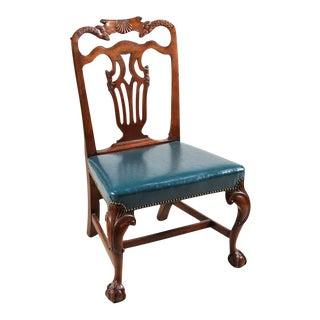 Fine Set of Ten Irish Georgian Mahogany Dining Chairs