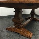 Image of Guy Chaddock Little Hampton Pedestal Trestle Table