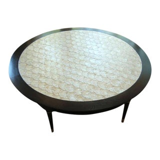 Capiz Shell Coffee/Game Table 1964