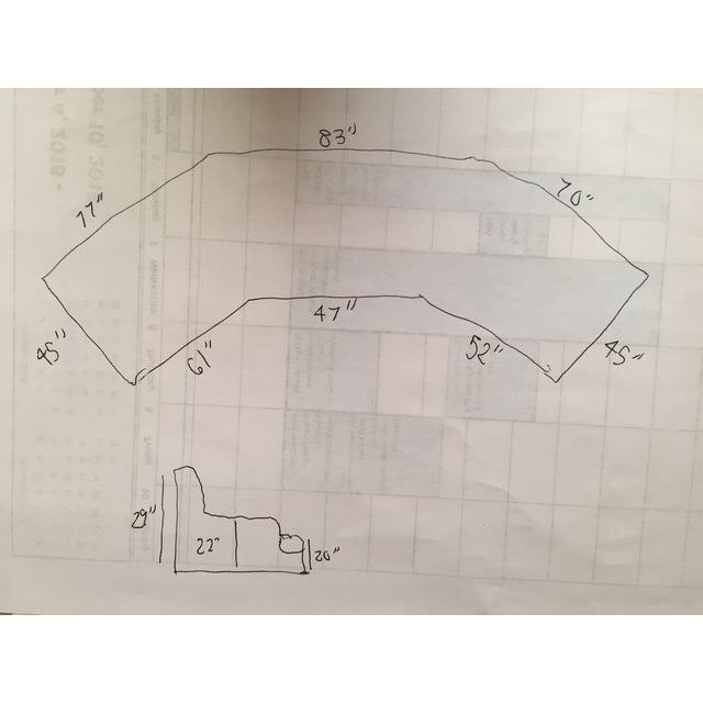 Kroll Furniture Custom Sofa Sectional - Image 10 of 10