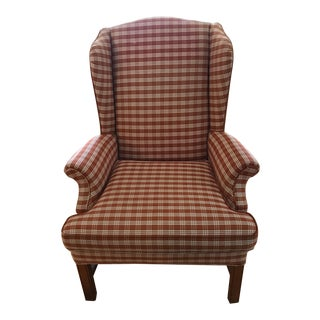 Mid-Century Wingback Chair
