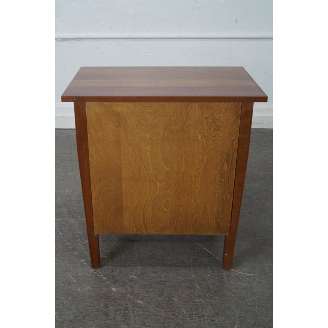 Stickley Mission Style Solid Cherry Nightstand - Image 4 of 10