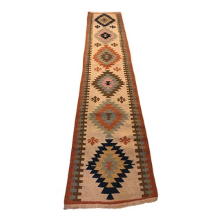 Vintage Turkish Kilim Runner - 2'3'' X 11'