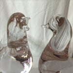 Image of Vintage Murano Glass Birds