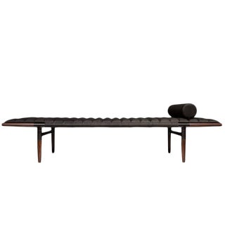 Erickson Aesthetics Rosewood Daybed in Horween Leather