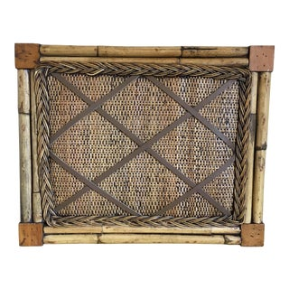 Artisan Rattan Bamboo Photo Board