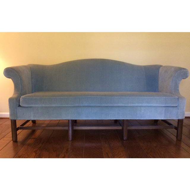Image of Ethan Allen Chippendale Sofa